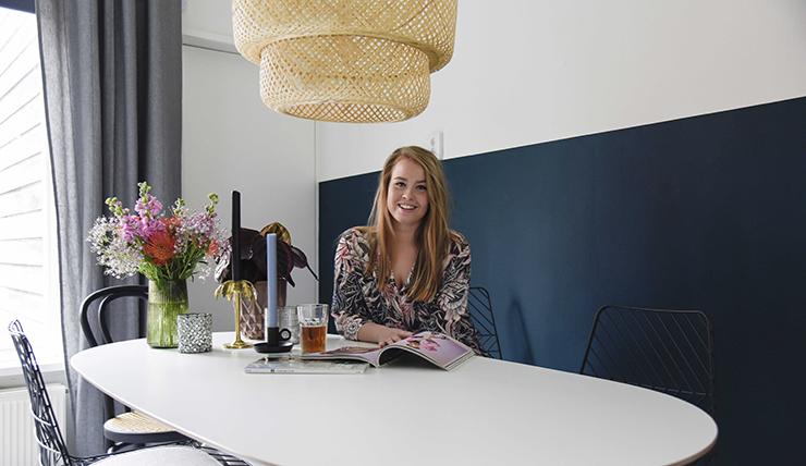 Studentenkamer inspiratie van Daphne uit Groningen