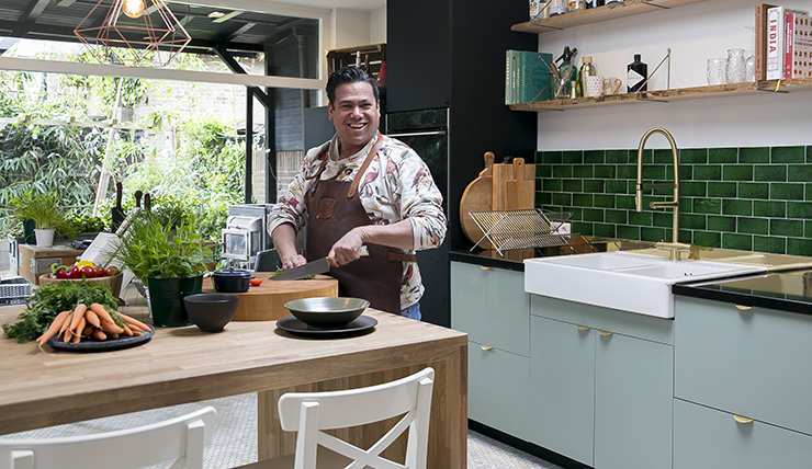 Tv In Keuken : Knappe deur van de masterbedroom naar de tv hoek keuken picture