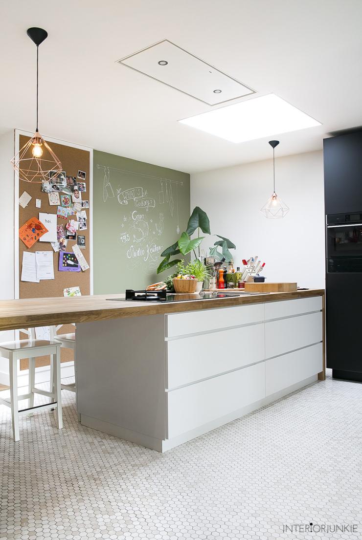 Coole tegels gespot in de keuken van tv-kok Danny Jansen