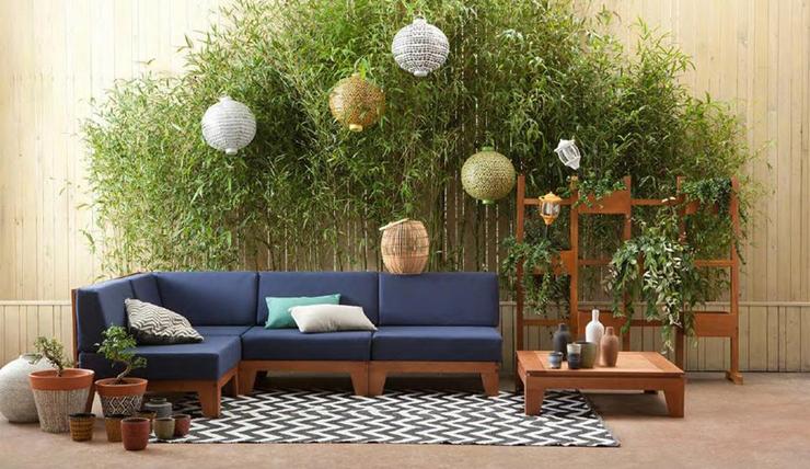 Lekker bruinen op deze zomerse loungebank