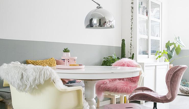 Creëer meer ruimte met een ronde eettafel interior junkie