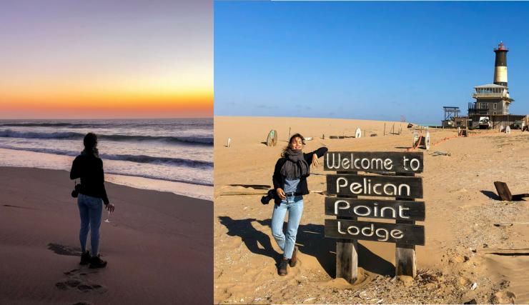Slapen naast een vuurtoren | Namibie reisvlog #2