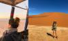 Namibie vanuit een luchtballon|reisvlog #1