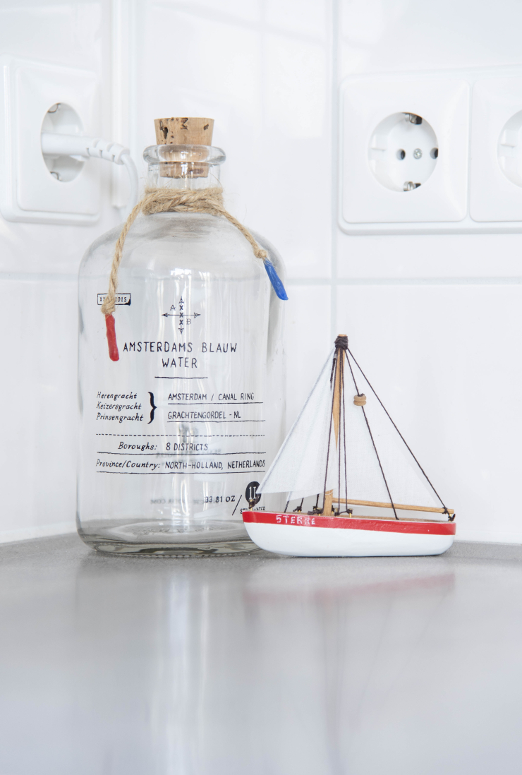 Modern en clean wonen - Zeilboot