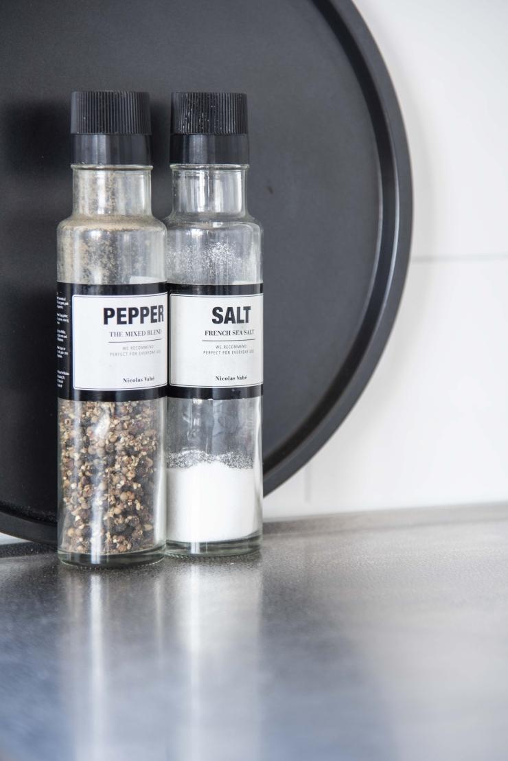 Modern en clean wonen - peper en zout styling