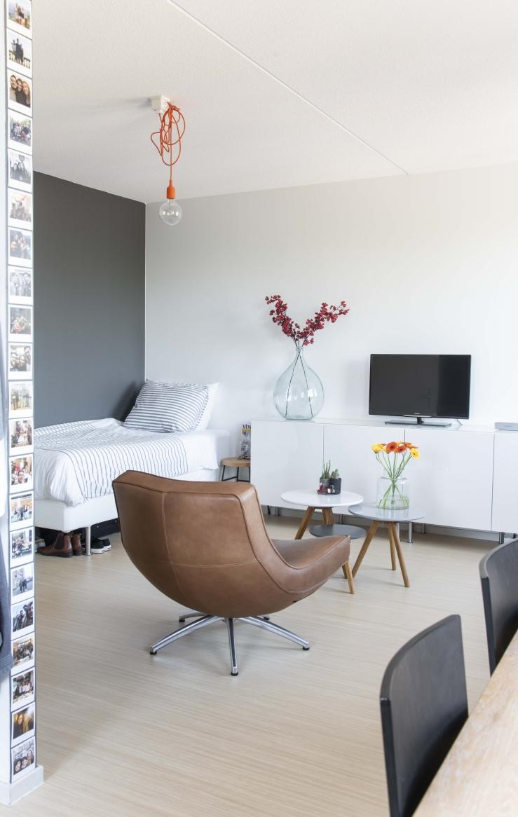 Modern en clean wonen - woonkamer