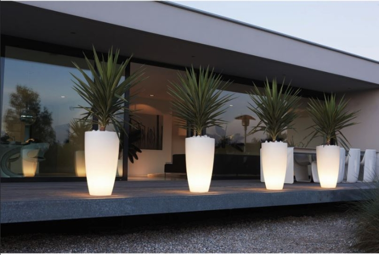 Fundesign - bloempot LED