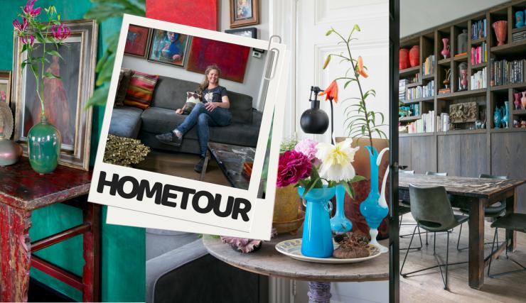 Hometour in het eclectische huis van Pien uit Haarlem