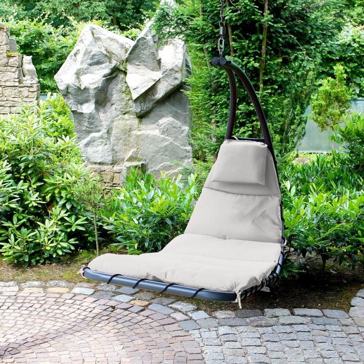 Hang Stoel Tuin.Lekker Hangen In Een Hangstoel
