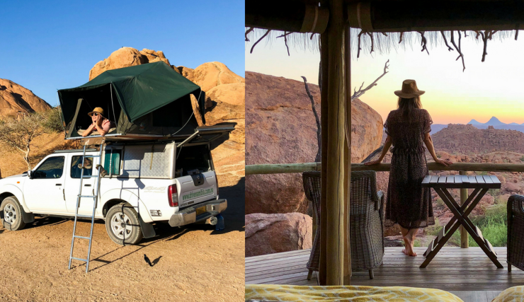 Camping versus glamping | Namibie reisvlog #3