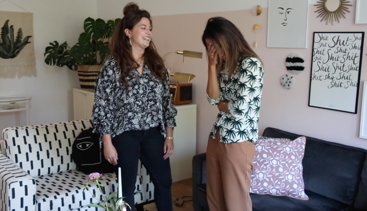 Vlog #60 allemaal hometour bloopers