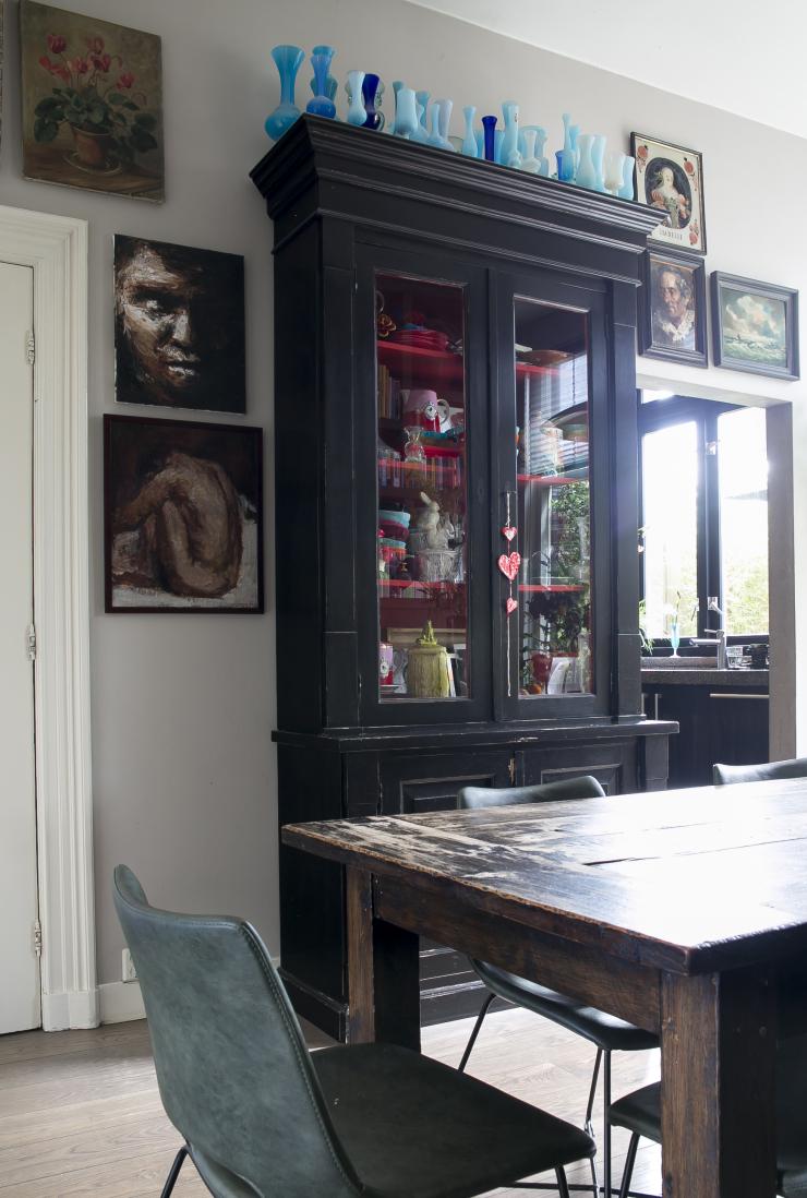 Eclectisch wonen bij Pien in Haarlem