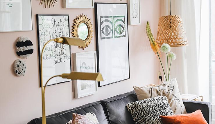 Hang je eigen kunst aan de muur. Budgetproof!