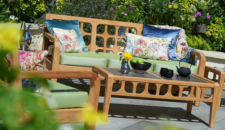 Zomerse Tuin Inspiratie : Shop the look een zomerse tuin