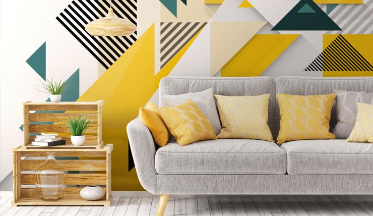 Geometrische vormen in je interieur