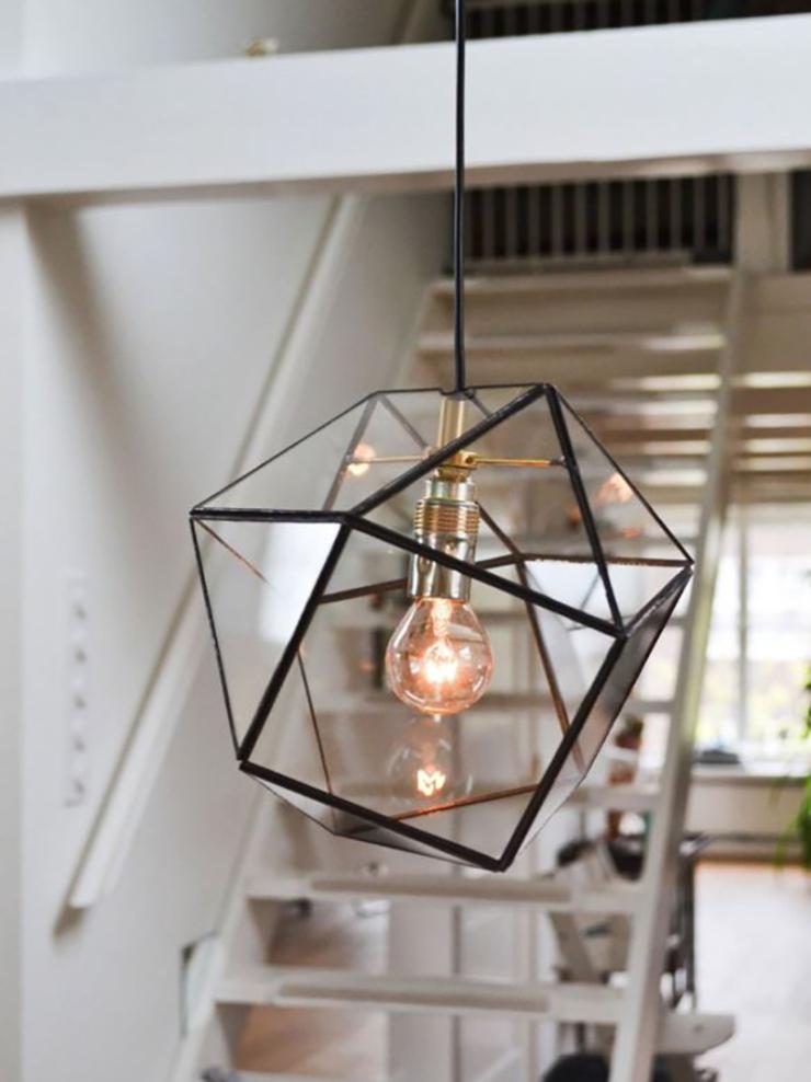 Geometrische vormen - lamp