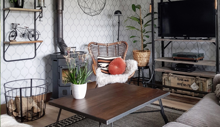 Interieur Design Woonkamer : Stijladvies industriële woonkamer