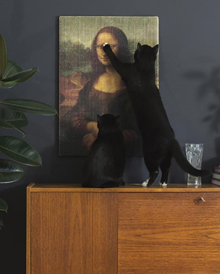 Mona Lisa krabplaat - kattendag