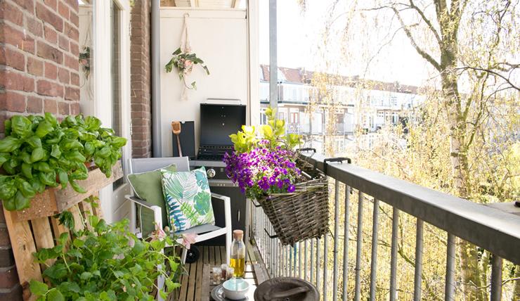 Klein Balkon Inrichten : Een klein balkon inrichten woontrends