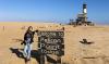 Bijzonder overnachten in Namibie naast een vuurtoren