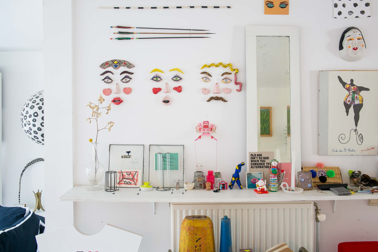 Binnenkijken in het kleurrijke interieur van Annebet