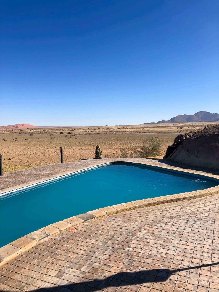 Slapen naast de woestijn in Namibie