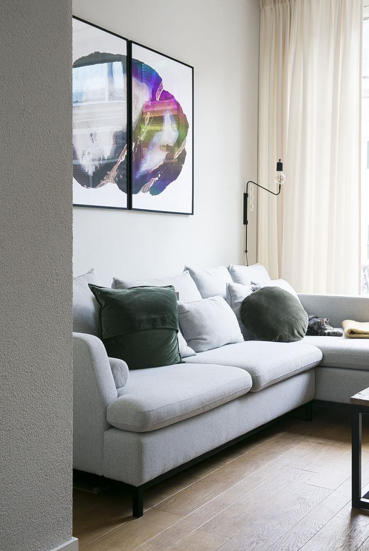 Pronken met coole prints aan de muur