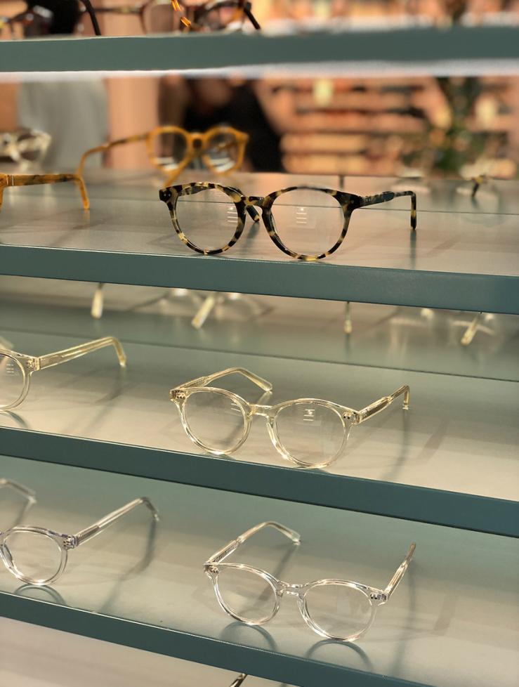 De meest hippe brillenwinkel ever, toch?