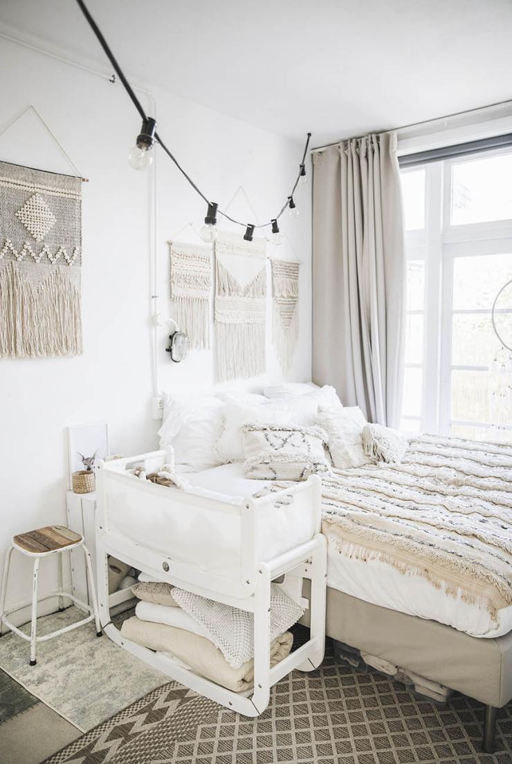 Lichtslinger in de slaapkamer: o zo romantisch - INTERIOR JUNKIE