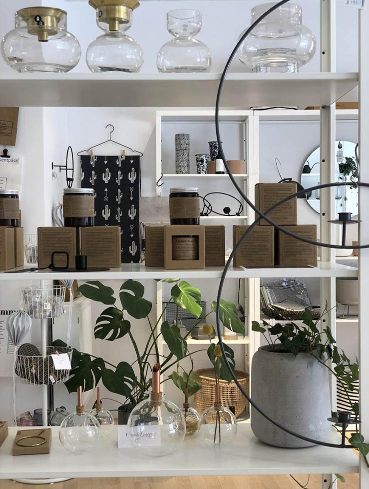Woonwinkelen bij Olika Rum in Malmö