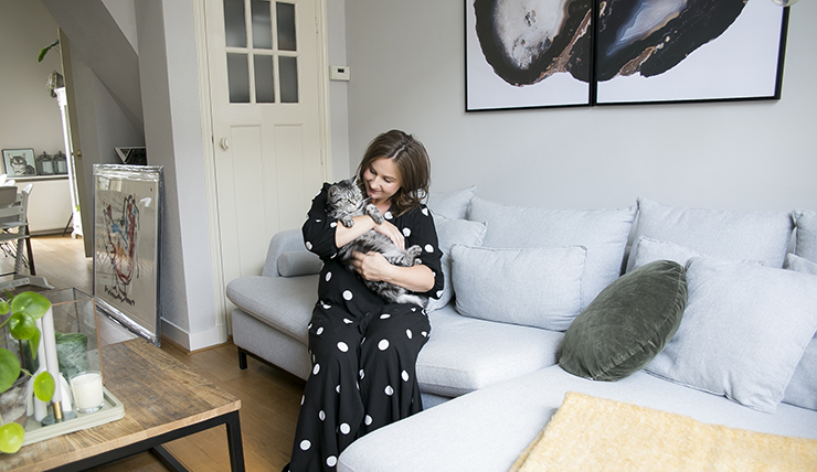 Tweedehands Meubels Nijmegen : Thuis bij danique in een huis vol tweedehands meubels interior
