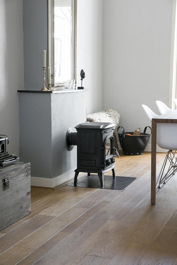 Thuis bij Danique in een huis vol tweedehands meubels