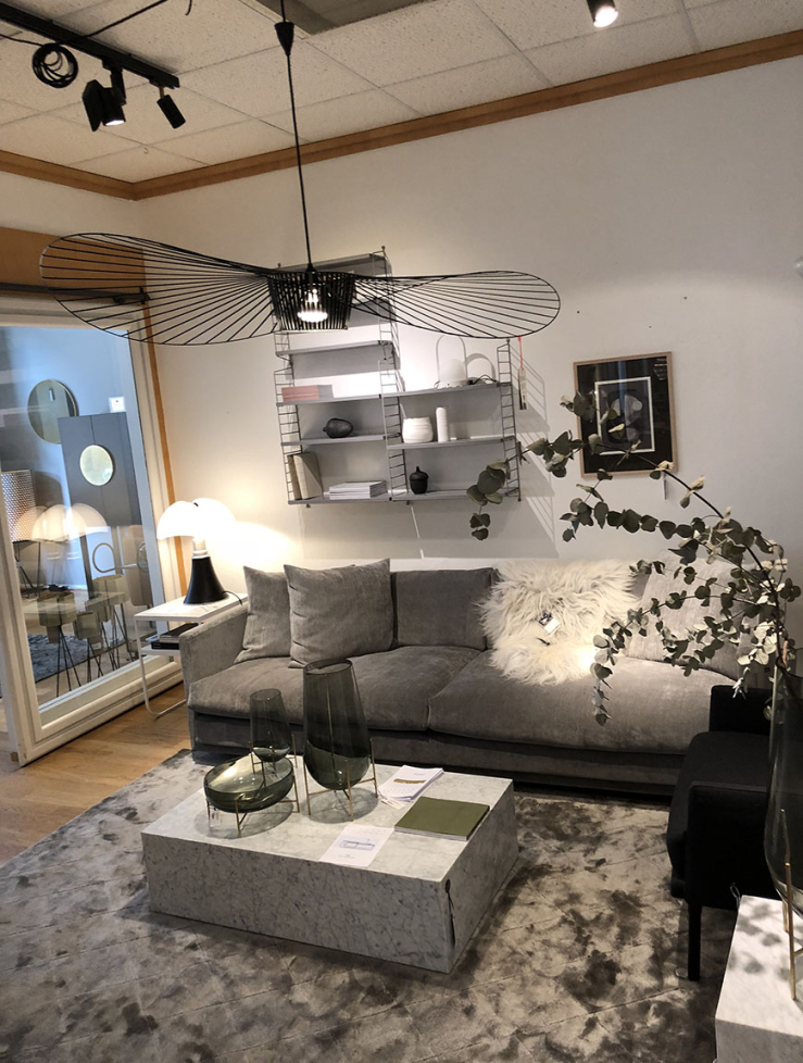 Design shoppen in Malmo bij Olsson & Gerthel