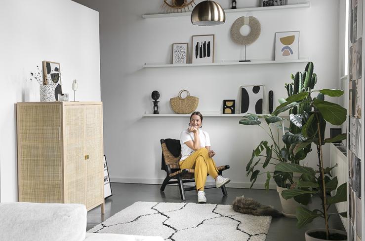 Inspiratie Gordijnen Woonkamer : Loft inspiratie van mariska uit rotterdam interior junkie
