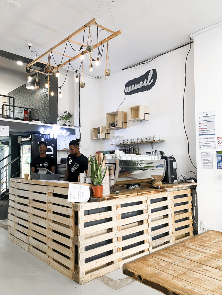 Koffie drinken in Lille: Wally's Coffee