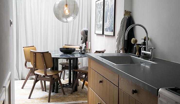 Ronde Eethoek Tafel : Een marmeren ronde eettafel o zo mooi interior junkie
