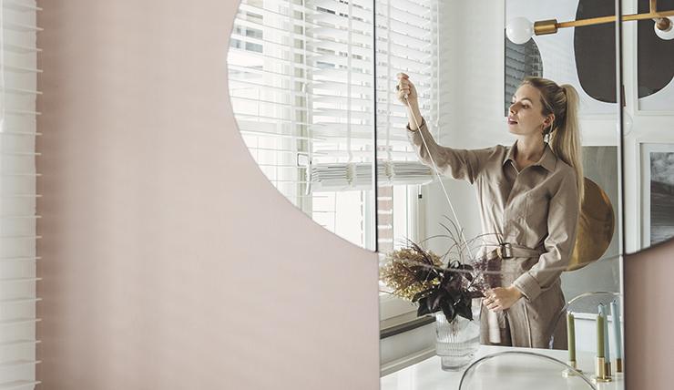 Pronken met een bijzondere spiegel in de eethoek