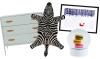 Woonfavorieten: hippe commode en zebra vloerkleedje