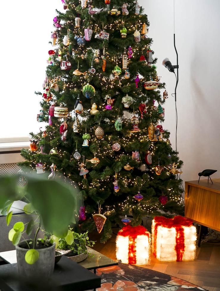 Mijn Xxl Kitscherige Kerstboom Staat Weer Interior Junkie