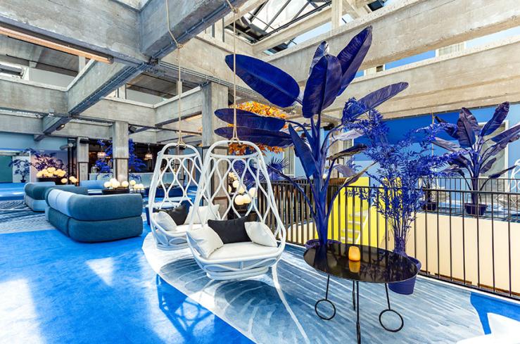 Overnachten in Rotterdam in het Room Mate Bruno hotel