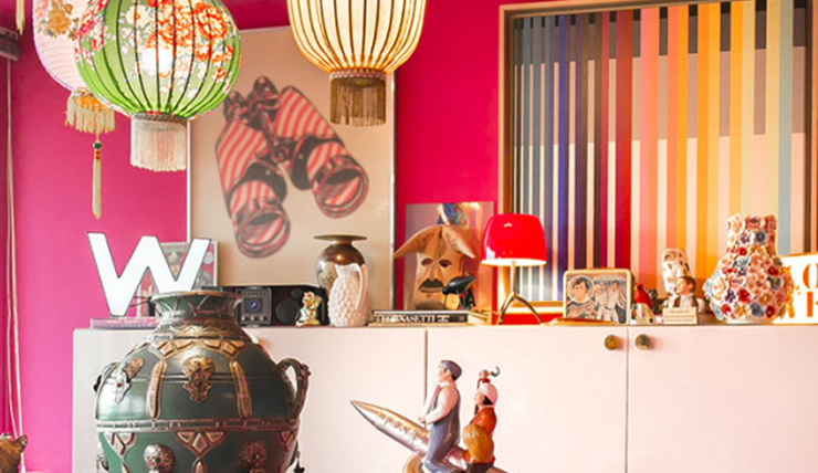 Creëer een kleurrijk geheel thuis met pop art