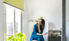 Badkamer touch-up: pronken met slimme raambekleding