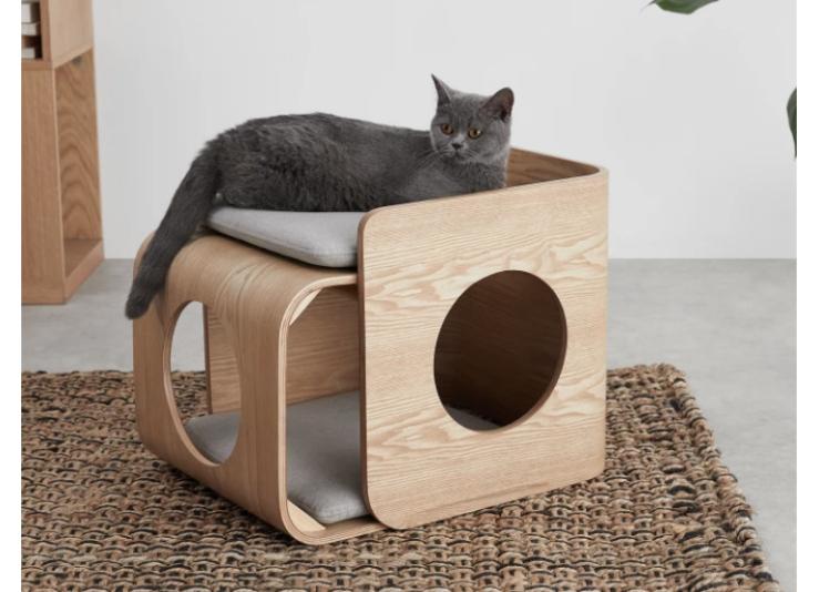 Woonfavorieten: wonderlijk wandkleed en kattenlounge