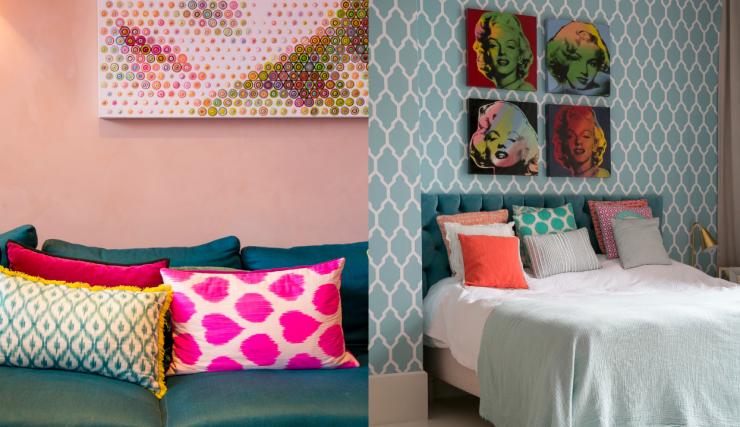 Hometour in het huis van vanessa vol kleur & patronen interior junkie