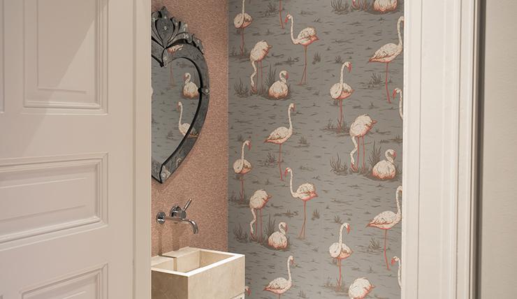 Flamingo In Huis : Tafelzeil flamingo tafelzeil collectie huis tuin en