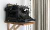Pronken met een vintage typemachine