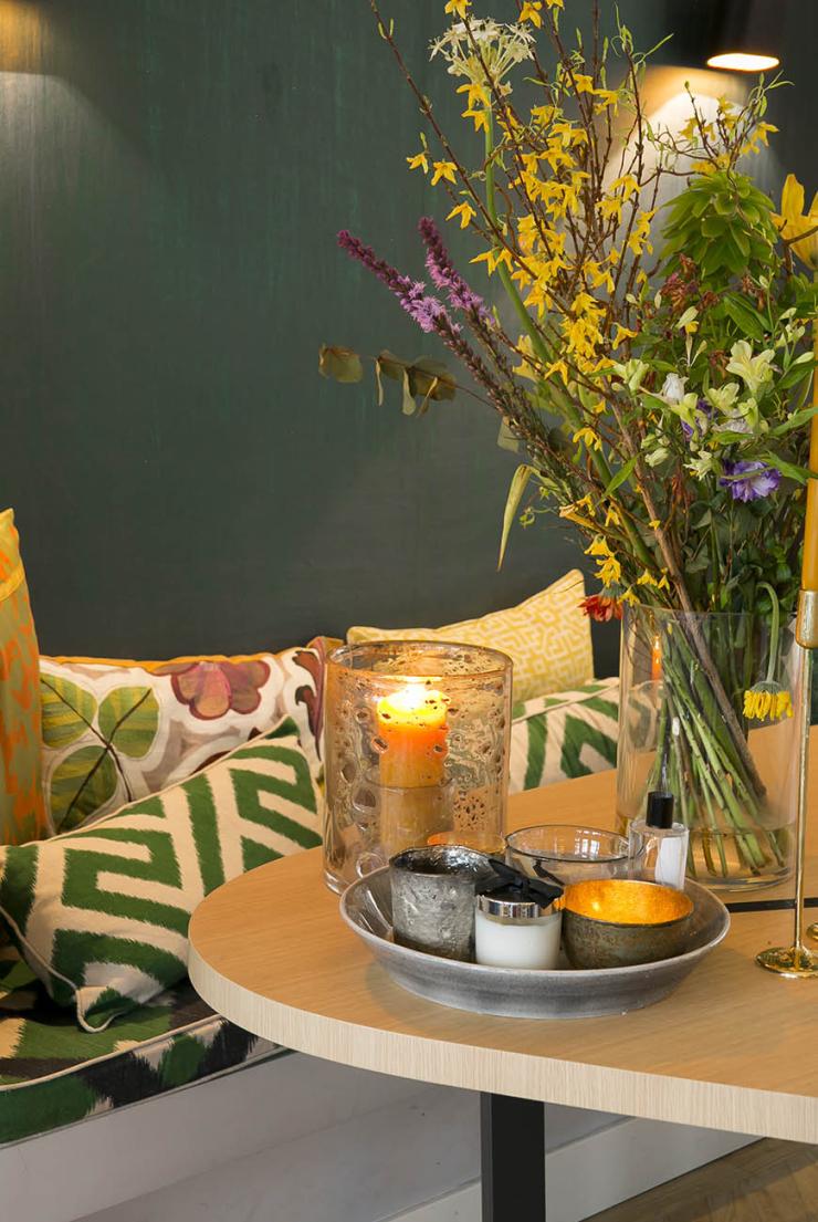 Mooi: een eettafel in een bijzondere vorm