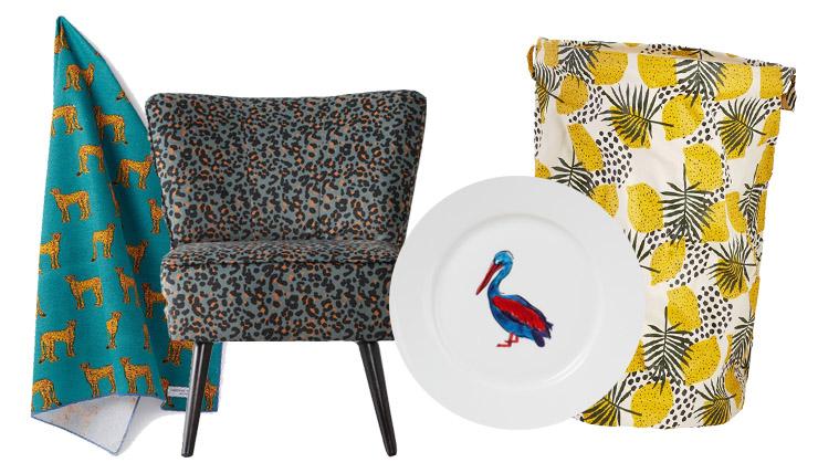 Woonfavorieten: kittige theedoek + zomerse wasmand