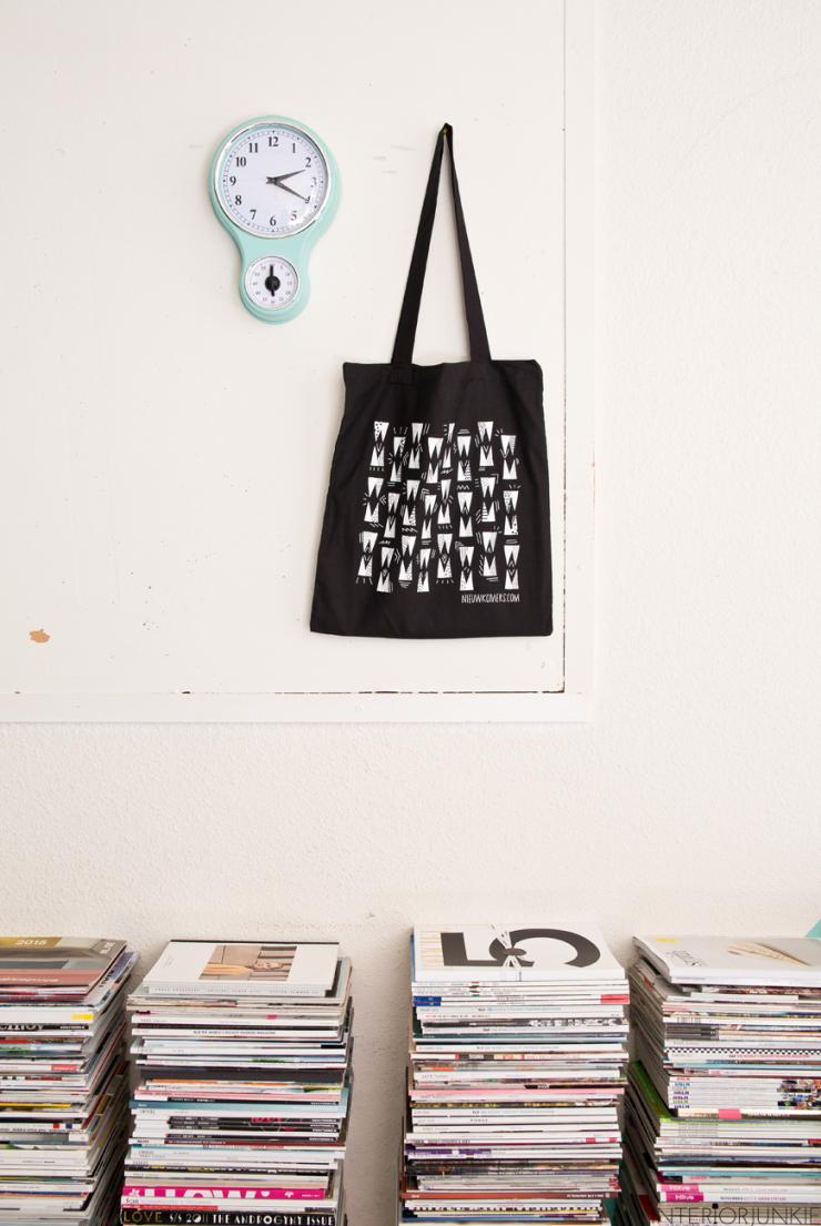 10x werken met stapels tijdschriften in huis