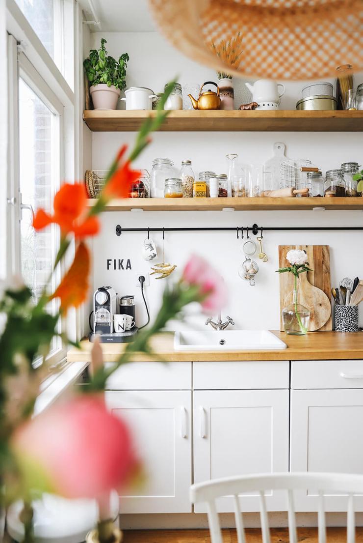 Planken Voor In De Keuken.Mooi Voor In De Keuken Zwevende Planken Interior Junkie
